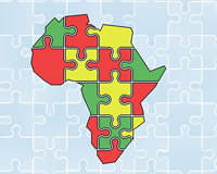 African countries wordsearch