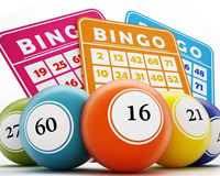 Bingo numbers #2 wordsearch