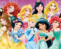 Disney Princesses wordsearch