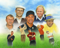 Golf legends wordsearch