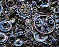 Mechanical parts wordsearch