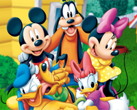 Mickey and friends wordsearch